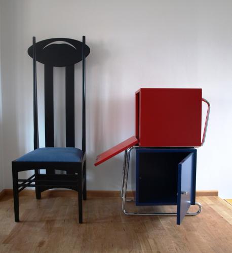 Bauhaus thonet schrank kommode formsch n for Bauhaus nachbau